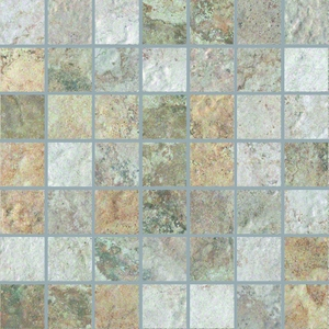 """Cerdomus Forge Mixed Color Mosaic 2"""" x  2"""""""