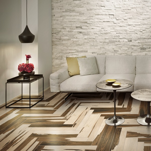 Cerdomus Over Wood Look Tile Flooring