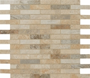 "Cerdomus Rok Mixed Color Mosaic 1"" x 3"""