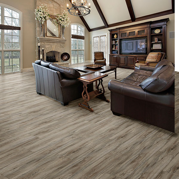 Congoleum Triversa Applewood Frosted Coffee Vinyl Flooring