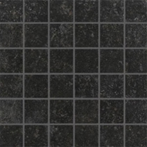 "Crossville Bluestone Vermont Black Unpolished 2"" x 2"" Mosaic"