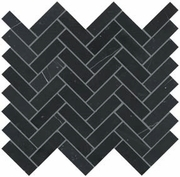 Crossville Yin + Yang Black Dragon Herringbone