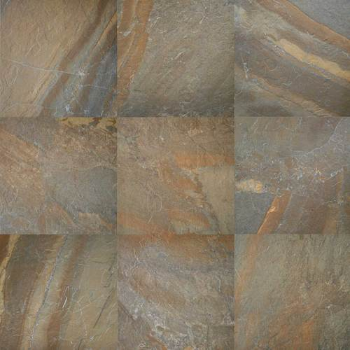 Daltile ayers rock rustic remnant 13 x 20 porcelain tile for Granite remnant cost per square foot