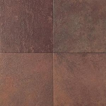 "Daltile Continental Slate 12"" x 12"" Indian Red"
