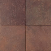 "Daltile Continental Slate 18"" x 18"" Indian Red"