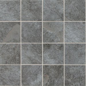 Daltile Continental Slate 3 Quot X 3 Quot English Grey Mosaic