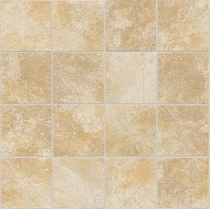 "Daltile Continental Slate 3"" x 3"" Persian Gold Mosaic"