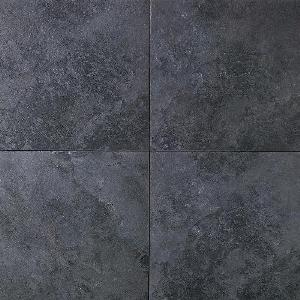 Daltile Continental Slate X Asian Black Porcelain Tile CSP - 6x6 black floor tile
