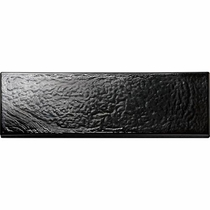 "Daltile Glass Horizons Black Sand 2 1/2"" x 7 3/4"""