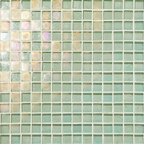 "Daltile Glass Horizons Sea Glass 12"" x 12"" Mosaic"
