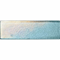 "Daltile Glass Horizons Sky Blue 2 1/2"" x 7 3/4"""