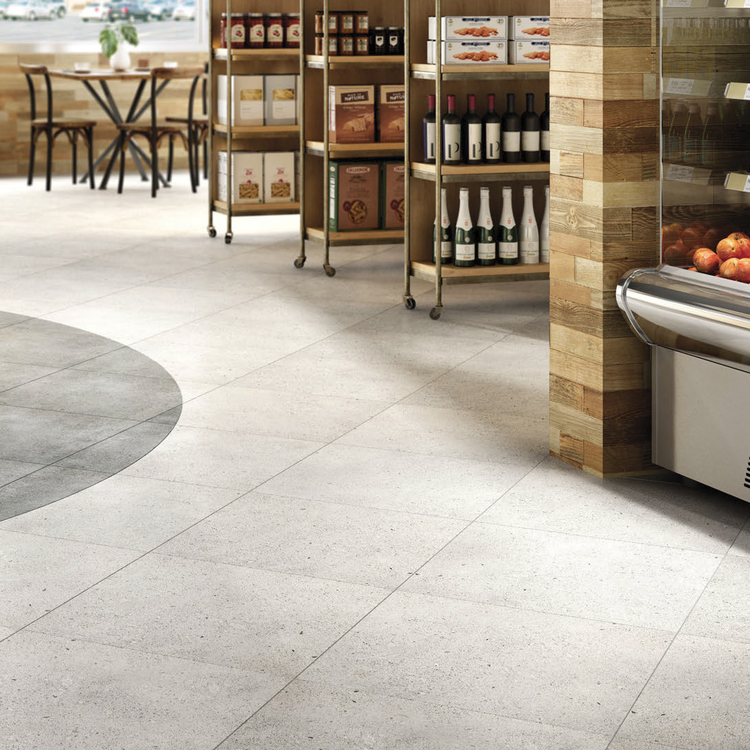 Daltile Park Light Gray 12 X
