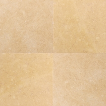 "Daltile Limestone Jerusalem Antique Gold Polished 12"" x 12"""