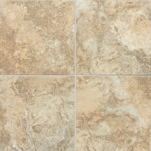 "Daltile San Michele Dorato 24"" x 24 Cross-Cut"