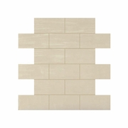 "Daltile Skybridge Off White 12"" x 12"" Brick Joint Mosaic"