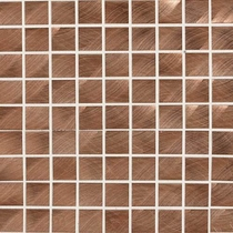"Daltile Structure 1"" x 1"" Copper Mosaic"