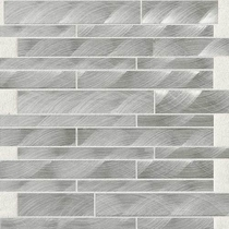 "Daltile Structure 12"" x 12"" Steel Interlocking Mosaic"
