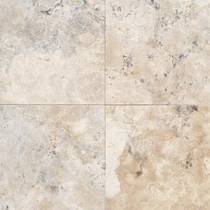 "Daltile Travertine 12"" x 12"" Honed Durango Honed"
