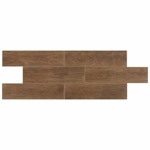 Daltile Willow Bend Dark Brown 6 x 24