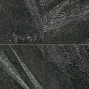 "Florim Galaxy Nero Semi Polished 12"" x 24"""