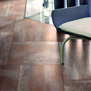"Happy Floors Oxido Cobre 18""18"""
