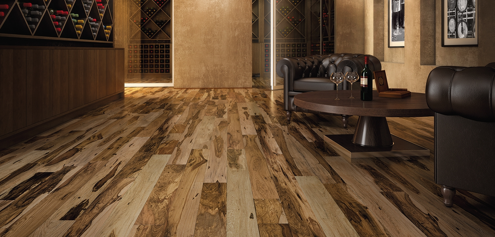 Indusparquet Brazilian Pecan Engineered Hardwood Flooring