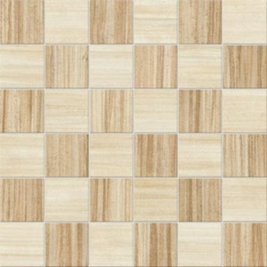Interceramic Alma Natura 12 x 12 Caffe Light Mixage Mosaic
