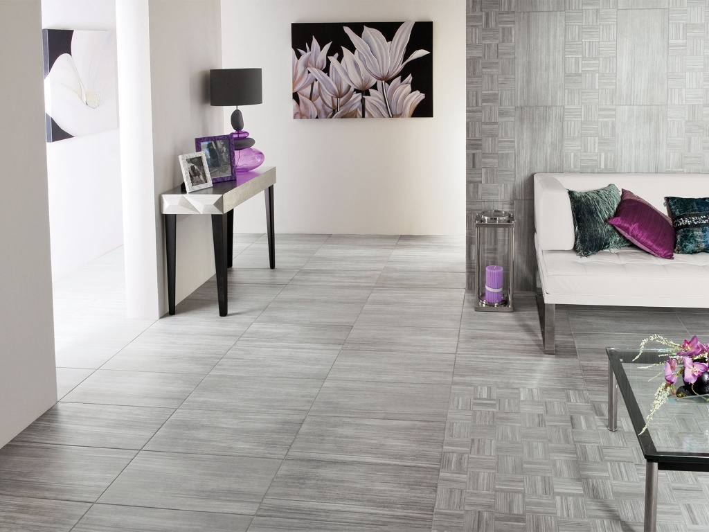 Interceramic Alma Natura Grigio 12 X 24 Tile
