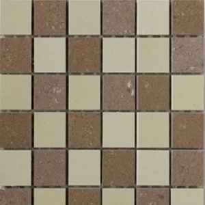 Interceramic Barcelona II 12 x 12 Matte/Polished Mix Mosaic B