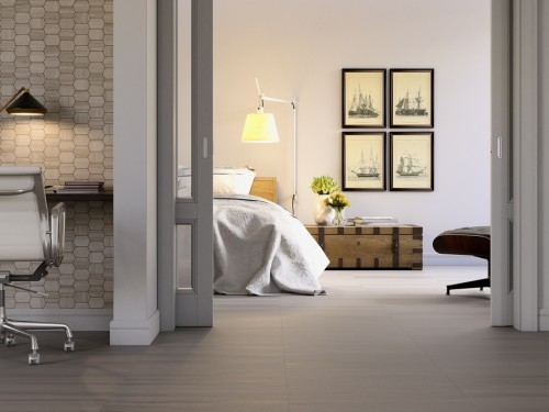 Interceramic Burano Noce Trento Porcelain Flooring 12 X 24