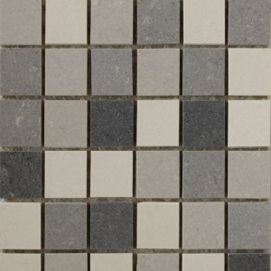 Interceramic Concrete 12 x 12 Random Mosaic A