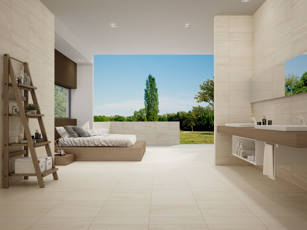 Interceramic Montpellier Beige Porcelain Tile 7 5 Quot X 24 Quot