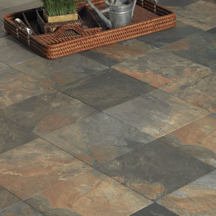 Slate Look Floor Tile : Tile themes and styles wood look subway