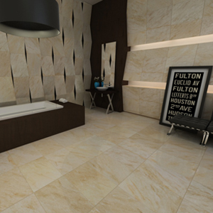 Interceramic San Giulio Isola Beige Tile Flooring 12 X 24