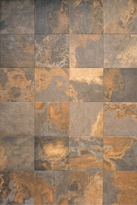 Interceramic Slate Supremo Multicolor 16 x 16