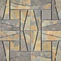 Interceramic Slate Supremo Multicolor 16 x 16 Mosaic