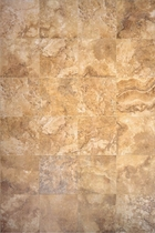 Interceramic Travertino Royal Gold 16 x 16 Mosaic