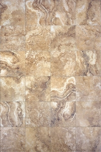 Interceramic Travertino Royal Noce 16 x 16 Mosaic