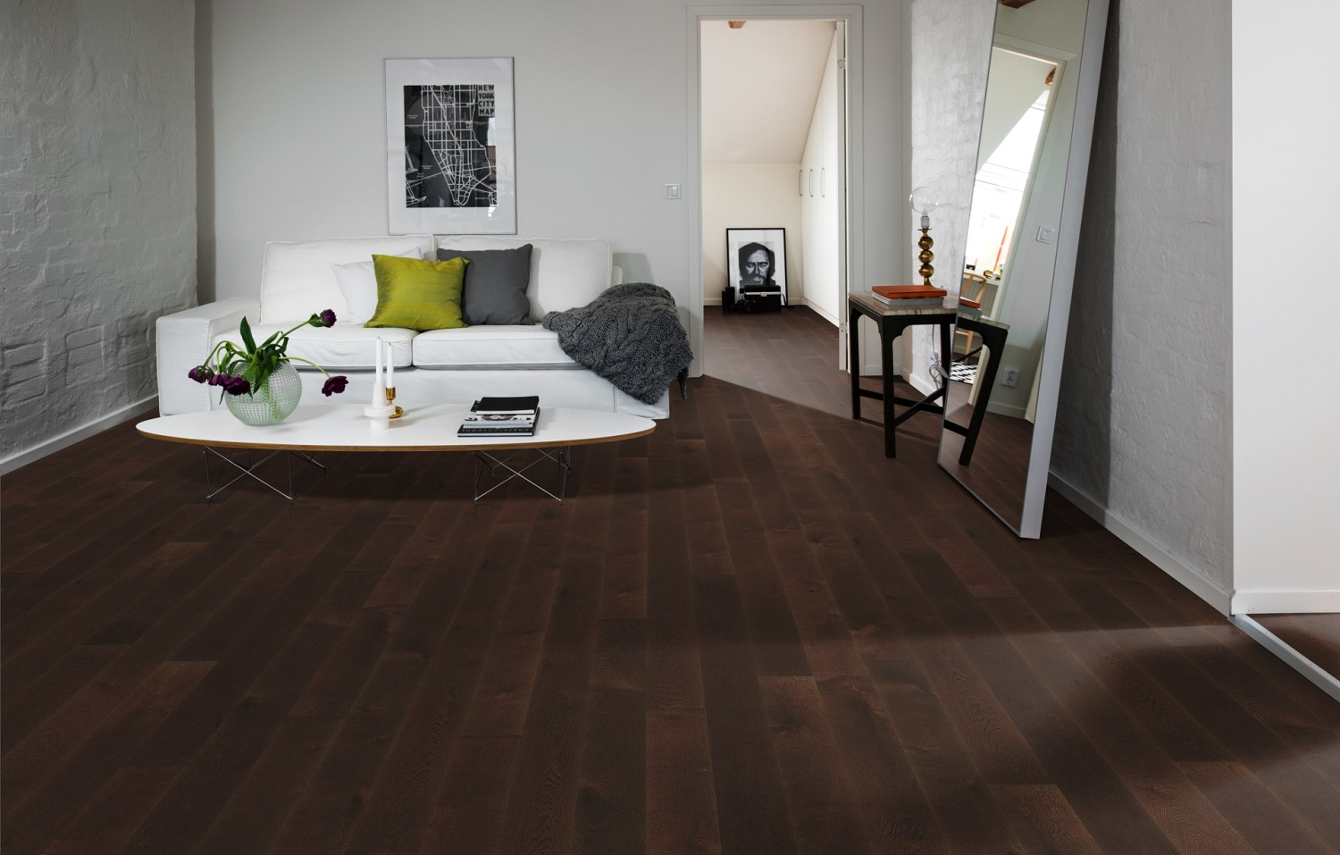 Kahrs canvas oak impasto 5 engineered hardwood flooring for Arredamento casa contemporaneo