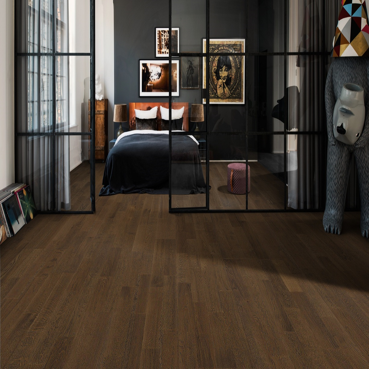 kahrs harmony oak bean engineered hardwood flooring. Black Bedroom Furniture Sets. Home Design Ideas