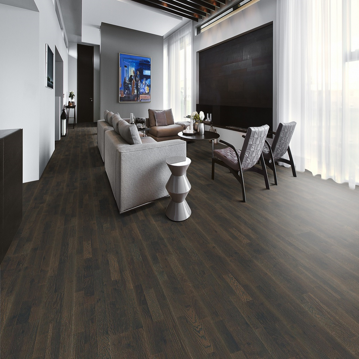 texana oiled tione brown smoked floor light chevron engineered flooring kahrs swedish oak brushed