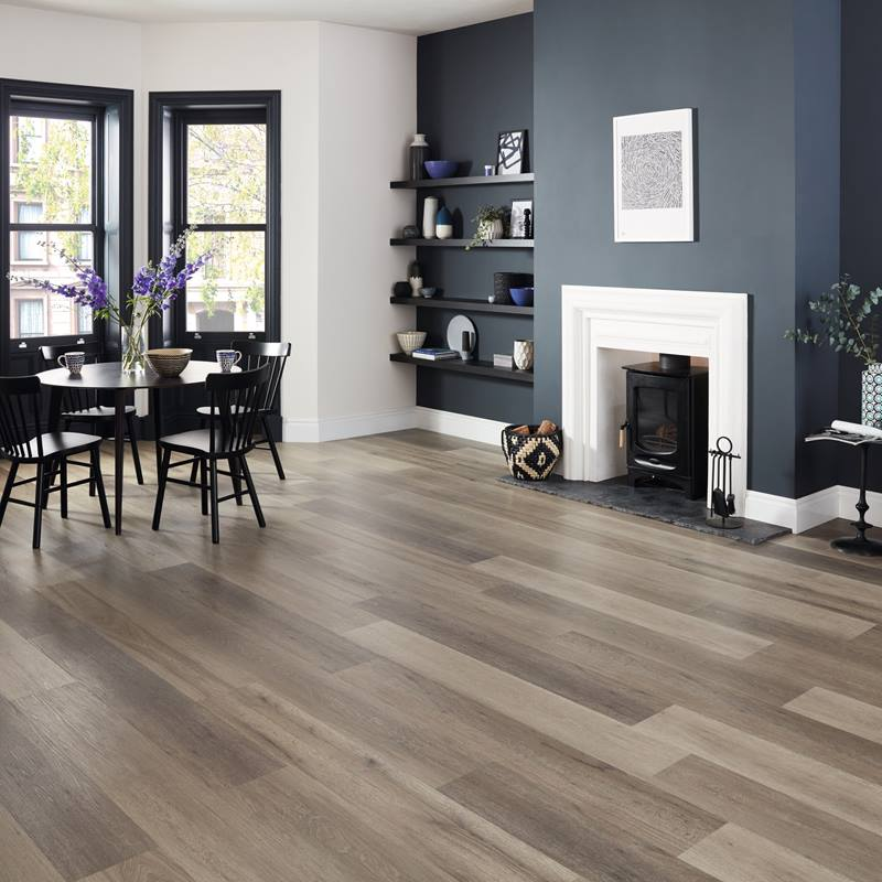 Karndean Korlok Washed Grey Ash Vinyl Flooring