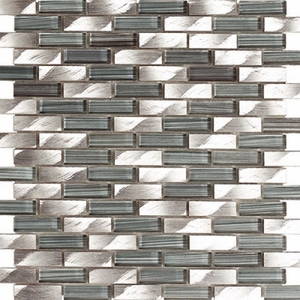 Kertiles Damasco Silver Mosaic