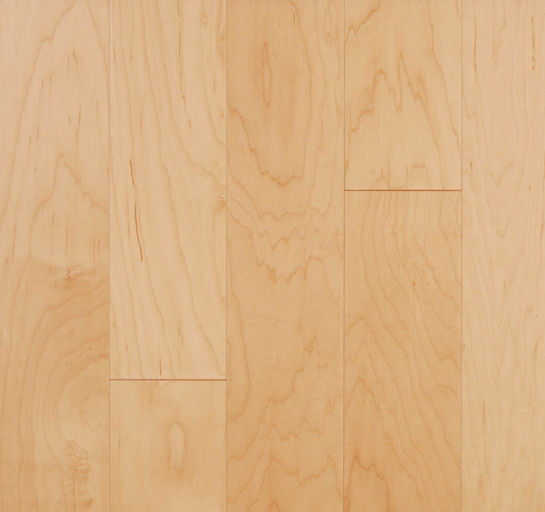 Lm flooring kendall natural maple hardwood flooring 5 x for Maple hardwood flooring
