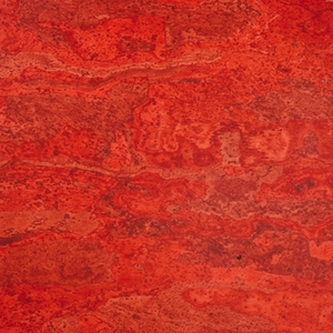 "LSI Cork Masi Red 12"" x 12"""