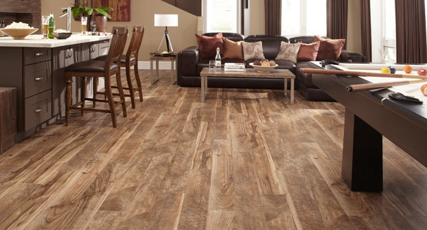 Mannington adura distinctive plank heritage buckskin 6 for Luxury vinyl flooring
