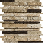 Marazzi Archaeology Babylon Random Strip Mosaic