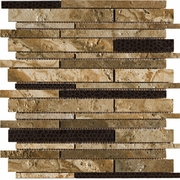 Marazzi Archaeology Chaco Canyon Random Strip Mosaic