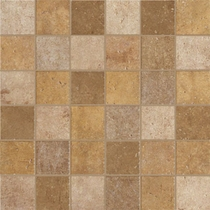 Marazzi Walnut Canyon Golden Mosaic 2 x 2