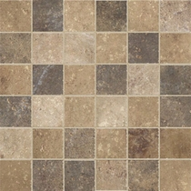 Marazzi Walnut Canyon Multi Mosaic 2 x 2